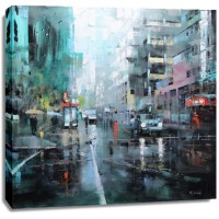 Mark Lague - Montreal Turquoise Rain