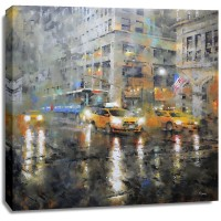 Mark Lague - Manhattan Orange Rain