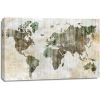 Isabelle Z - World Map I