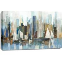 Allison Pearce - Boats by the Shoreline