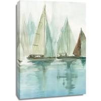 Allison Pearce - Blue Sailboats II