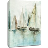 Allison Pearce - Blue Sailboats III
