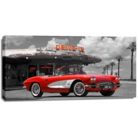 Gasoline Images - Historical diner, USA