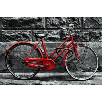 Karija Mile - Retro Vintage Red Bike