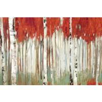Allison Pearce - Red Landscape
