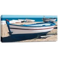 Aminah Muhsina - Old fishing Boat on Beach