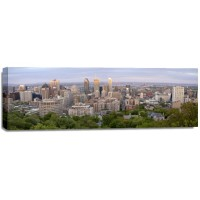 Timothy Hill - Panoramic view of Montrel city