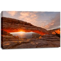 Adam Akshay - Sunrise at Mesa Arch Canyonlands