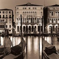 Alan Blaustein - The Grand Canal at Night