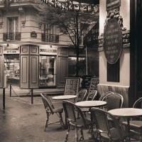Alan Blaustein - Café, Montmartre