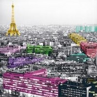 Anne Valverde - Eiffel Tower Colors