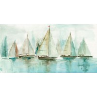 Allison Pearce - Blue Sailboats I