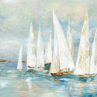 Allison Pearce - White Sailboats