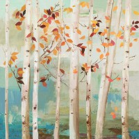 Allison Pearce - Fall Birch Trees