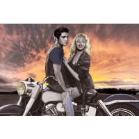 Elvis & Marilyn Ridin'