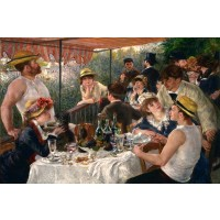 Pierre Auguste Renoir - Luncheon Of The Boating