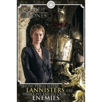 Game Of Thrones - Cersei Enemies Quote
