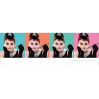 Audrey Hepburn - Ah Pop Art