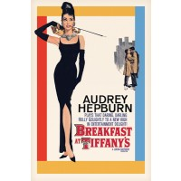 Audrey Hepburn - Breakfast At Tiffanys One Sheet