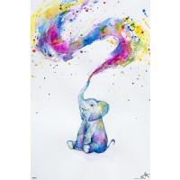 Marc Allante - Elephant Paint Splash