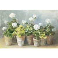 Danhui Nai - White Geraniums