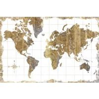 Wild Apple - Gilded Map