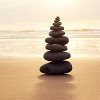 Zen Balanced Stones