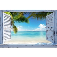 Beach Window - Horizontal