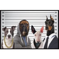 Dogs Lineup - Wanted Poster