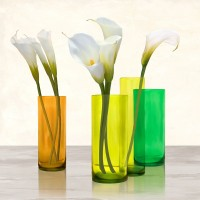 Ann Cynthia - Callas in crystal vases I (detail)