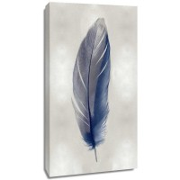 Julia Bosco - Blue Feather on Silver II