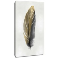 Julia Bosco - Gold Feather on Silver II