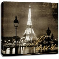 Kate Carrigan - Paris At Night In Sepia