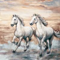 Ralph Steele - Running Horses I