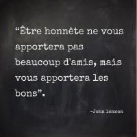 John Lennon - Être honnête