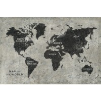 James Wiens - Grunge World Map