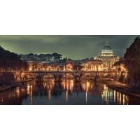 Assaf Frank - View of Basilica di San Pietro in Vatican, Rome, Italy