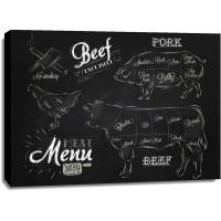 Chalk Line - Meat Menu