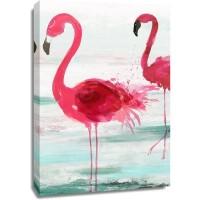 Aimee Wilson - Beach Flamingoes