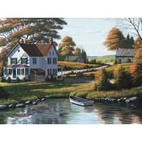 Bill Saunders - Along the Riverbank
