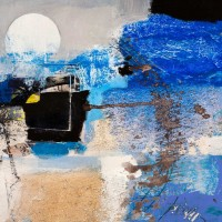 Arthur Pima - Moonlight (detail)